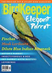 Australian Birdkeeper Magazine issue Vol 30 Issue 7