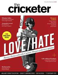 The Cricketer Magazine issue March 2017
