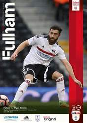 Fulham V Wigan Athletic 16-17 issue Fulham V Wigan Athletic 16-17