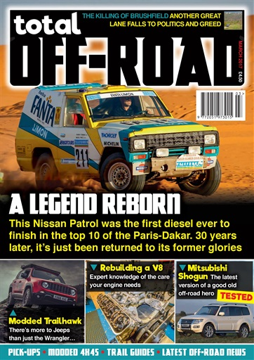 total off road magazine march 2017 subscriptions pocketmags. Black Bedroom Furniture Sets. Home Design Ideas