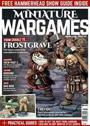 Miniature Wargames issue March 2017