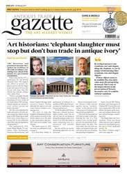 Antiques Trade Gazette issue Antiques Trade Gazette
