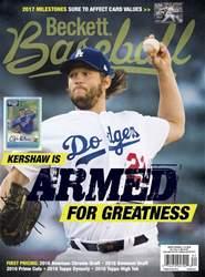 Beckett Baseball issue March 2017