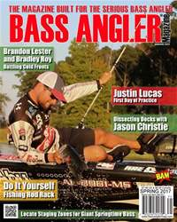BASS ANGLER MAGAZINE issue Spring 2017