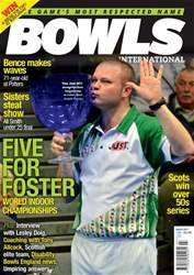 Bowls International issue  March 2017