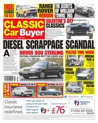 Classic Car Buyer issue No. 369 Diesel Scrappage Scandal