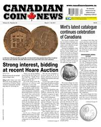 Canadian Coin News issue V54#24 - March 7
