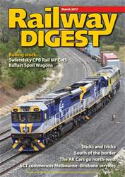 Railway Digest issue March 2017