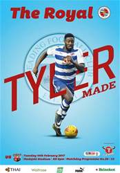 Reading FC Official Programmes issue 20 v Brentford