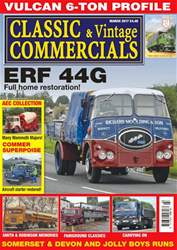 Classic & Vintage Commercials issue Vol. 22 No. 7 ERF 44G