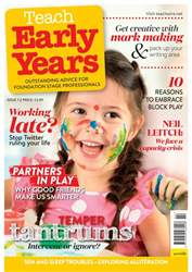 Teach Early Years issue Teach Early Years
