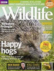 BBC Wildlife Magazine issue March 2017