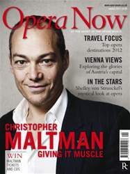 Opera Now issue January 2012