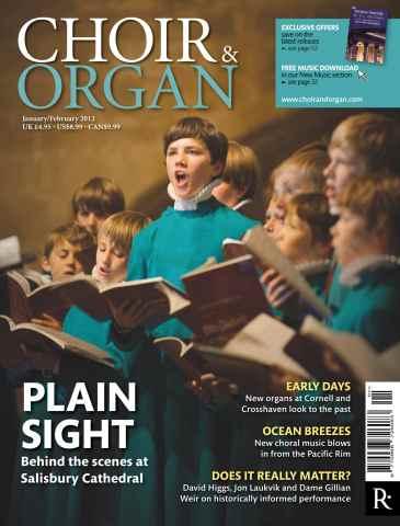 Choir & Organ issue Jan-Feb 2012