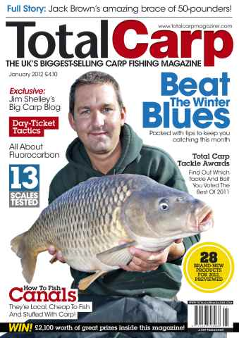 Total Carp issue January 2012