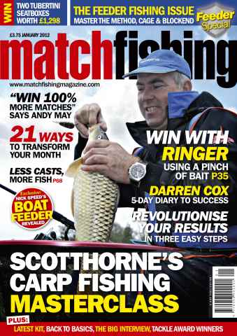 Match Fishing issue January 2012