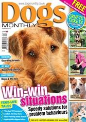 Dogs Monthly issue February 2012