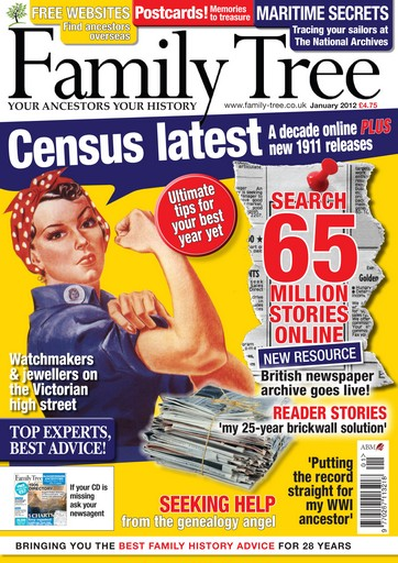 Family Tree issue Family Tree January 2012