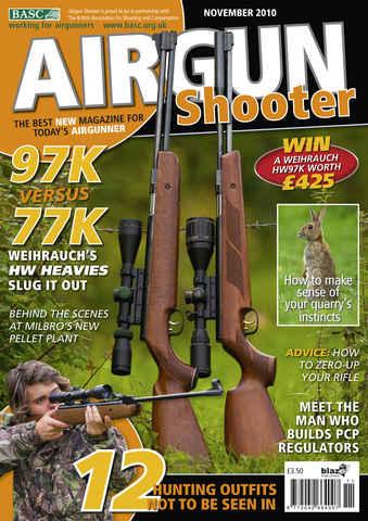 Airgun Shooter issue November 2010