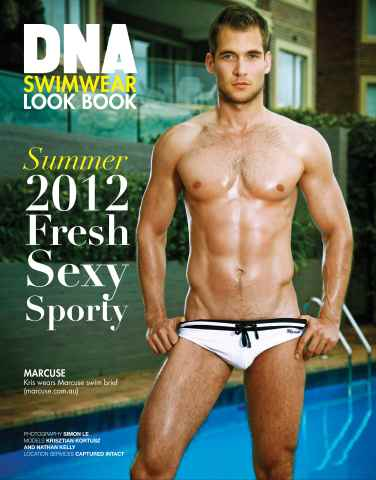 DNA Magazine issue FREE Swimwear Mini-Mag