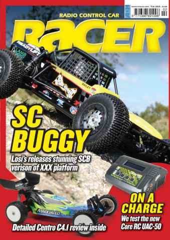 Radio Control Car Racer issue Feb 2012