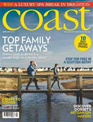 Coast issue No. 126 Top Family Getaways