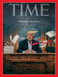 Time Magazine issue 27th February 2017