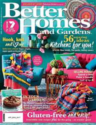 Better Homes and Gardens Australia issue April 2017