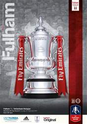Fulham v Tottenham Hotspur 2016-17 issue Fulham v Tottenham Hotspur 2016-17