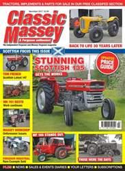 Classic Massey issue No. 67 Stunning Scottish 135