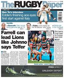 The Rugby Paper issue 19th February 2017