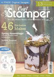 Craft Stamper issue April 2017