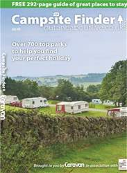 Caravan Magazine issue Campsite Finder 2017