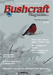 Bushcraft Magazine issue Winter 2016-17