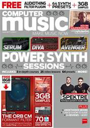 Computer Music issue April 2017