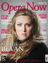 Opera Now issue March 2017