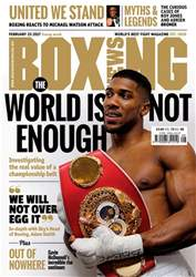 Boxing News UK issue 21/02/2017