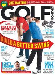 Golf Monthly issue April 2017