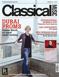Classical Music issue March 2017