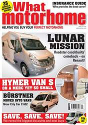 What Motorhome Magazine Cover