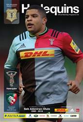 Harlequins issue Harlequins V Leicester Tigers