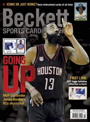 Sports Card Monthly issue March 2017
