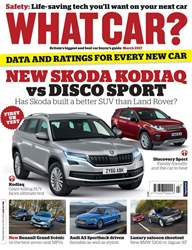 What Car Magazine issue April 2017