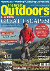 TGO - The Great Outdoors Magazine issue  April 2017