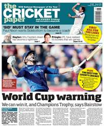 The Cricket Paper issue 24th February 2017