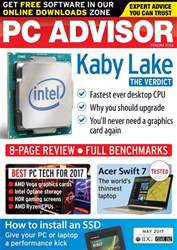 PC Advisor issue May 2017