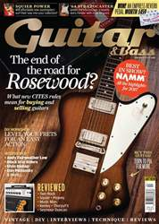 Guitar & Bass Magazine Magazine Cover