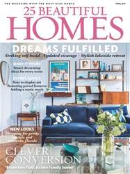 25 Beautiful Homes issue April 2017