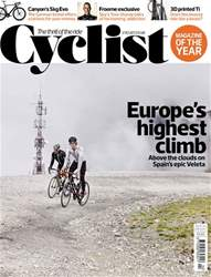 Cyclist issue April 2017