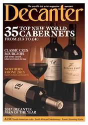 Decanter issue April 2017